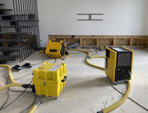 Vysoušení podlah udřevostaveb