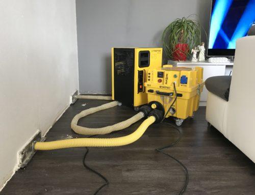 Vysoušení podlah bez nutnosti vrtání podlah