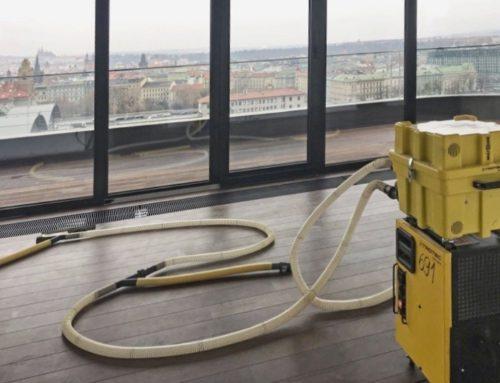 Odvlhčovače pro řešení vodovodních havárií