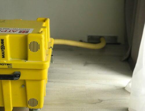 Podtlakové vysoušení bez demontáže podlahy